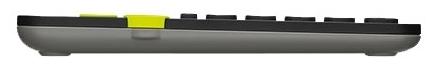 Logitech Multi-Device Keyboard K480 Black Bluetooth - подключение: беспроводная (Bluetooth)