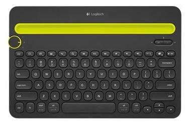 Logitech Multi-Device Keyboard K480 Black Bluetooth - размеры: 299x20x195мм, вес: 820г