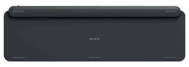 Logitech MX Keys - размеры: 430x20x131мм, вес: 810г