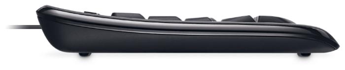 Microsoft Wired Keyboard 600 Black USB - кабель: USB (2м)