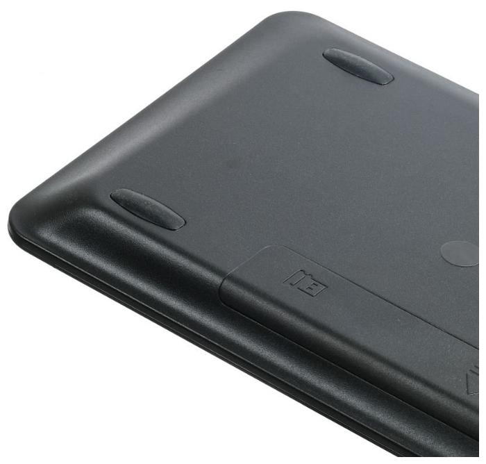 OKLICK 830ST Black USB - источник питания: 2xAAA