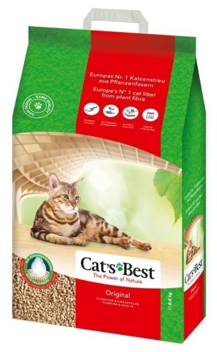 Cat s Best Original, 20 л/8.6 кг - древесный