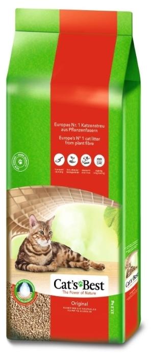 Cat s Best Original, 40 л/17.2 кг - древесный