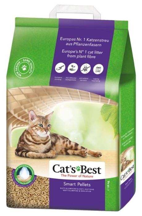 Cat s Best Smart Pellets, 10 кг/20 л - древесный