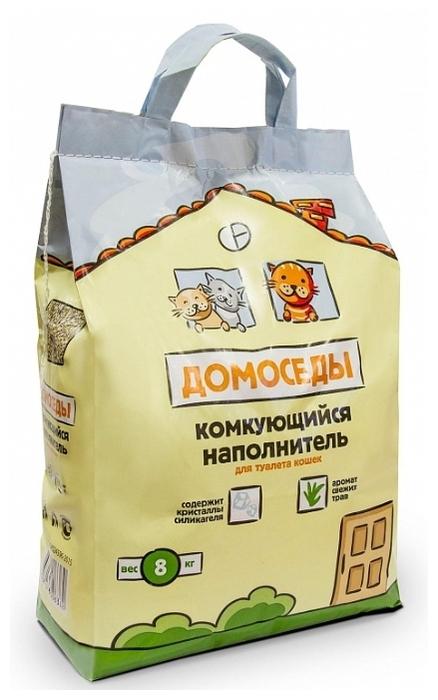 Домоседы комкующийся, 8 кг - минеральный