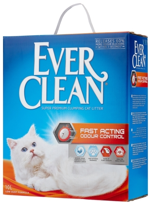Ever Clean Fast Acting, 10 л - глиняный