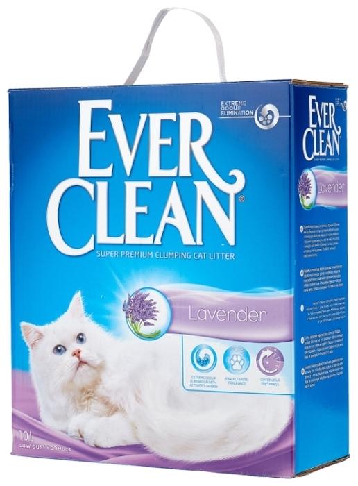 Ever Clean Lavender, 10 л - глиняный