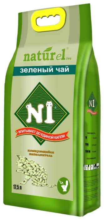 N1 Naturel Зеленый чай, 17.5 л - древесный