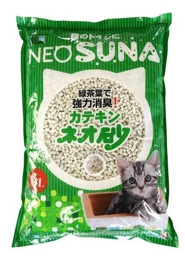 NeoSuna с экстрактом зеленого чая, 6 л - бумажный