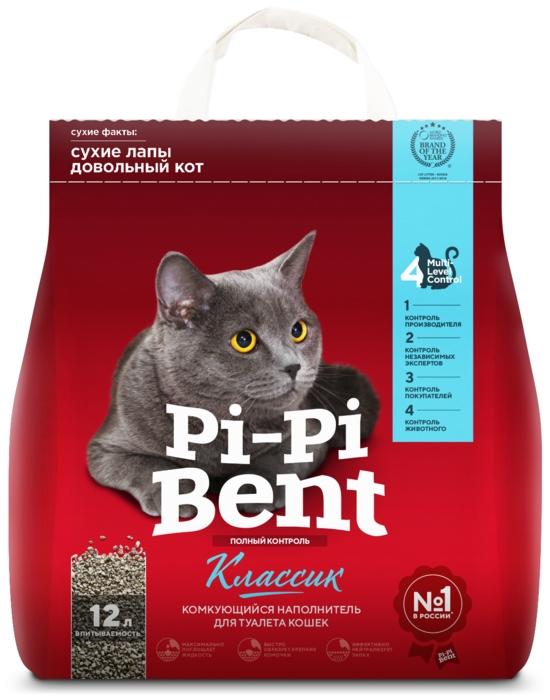 Pi-Pi Bent Классик, 5 кг - глиняный