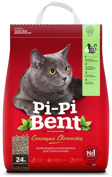 Pi-Pi Bent Сенсация свежести, 10 кг - глиняный