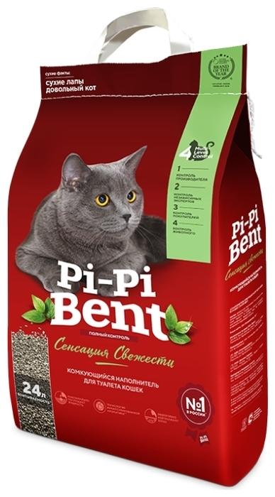 Pi-Pi Bent Сенсация свежести, 10 кг - с защитой от запаха, гипоаллергенный, ароматизированный
