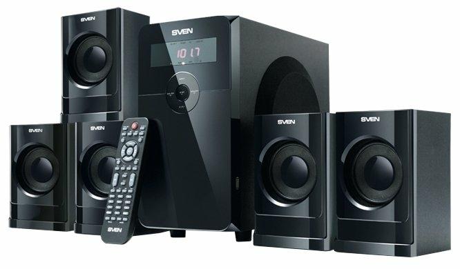 SVEN HT-200 - конфигурация АС: 5.1