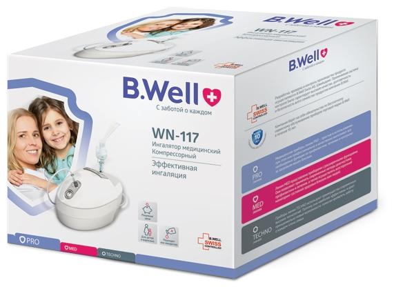B.Well WN-117 - средний размер частиц: 4мкм