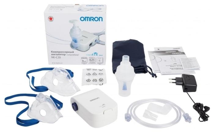 Omron Comp Air NE-C20 basic - объем емкости для лекарств: 10мл