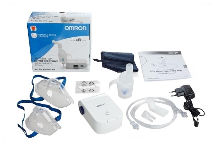 Omron Comp Air NE-C21 Basic - скорость распыления: 0.5мл/мин
