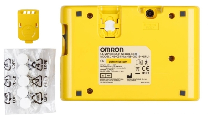 Omron Comp Air NE-C24 Kids - время непрерывной работы: 20мин