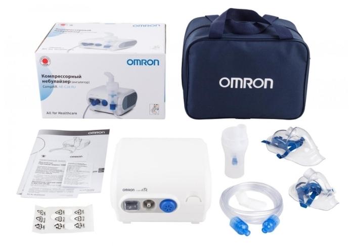 Omron Comp Air NE-C28 - уровень шума: 60дБ