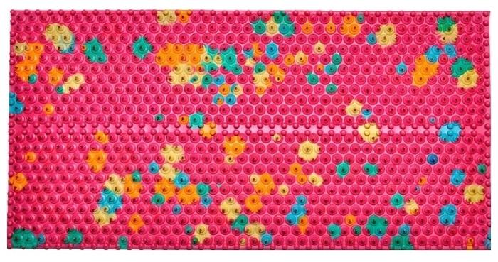 Ляпко Одинарный, шаг игл 5.8 мм 23x10.5 см - Размер (ШxД): 10.50х 23см