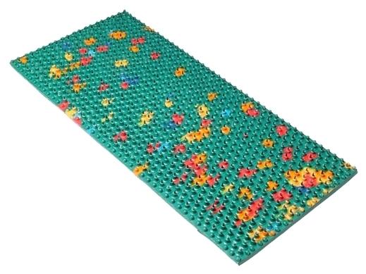 Ляпко Одинарный, шаг игл 6.2 мм 23x10.5 см - вид массажа: акупунктурный