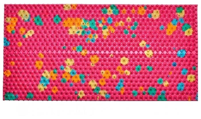 Ляпко Одинарный, шаг игл 6.2 мм 23x10.5 см - Размер (ШxД): 10.50х 23см