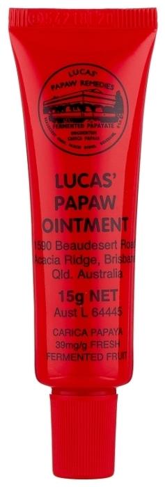 Lucas  Papaw 15 г - эффект: питание, восстановление, увлажнение