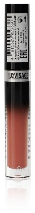 LUXVISAGE жидкая помада Glam Look Cream Velvet глянцевая - активный ингредиент: витамин E