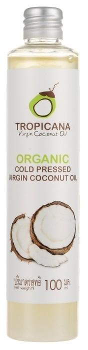 Tropicana кокосовое холодного отжима Organic Cold Pressed Virgin Coconut Oil - тип кожи: для всех типов