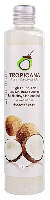 Tropicana кокосовое холодного отжима Organic Cold Pressed Virgin Coconut Oil - масла и эссенции: масло кокоса