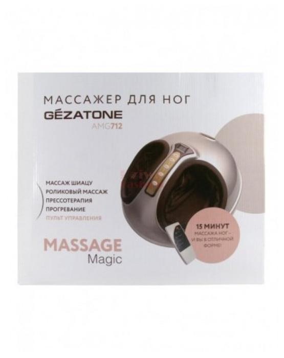 Gezatone Massage magic AMG712 - функции: автоотключение, подогрев