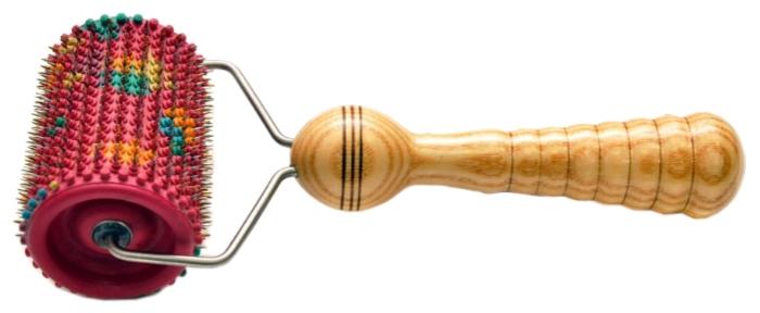 МПК Ляпко Аппликатор Валик универсальный - материал: дерево, металл, резина