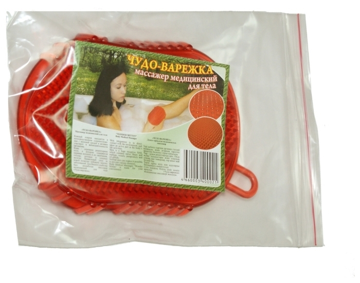 Торг Лайнс Чудо-варежка - зона массажа: ноги, руки, ягодицы