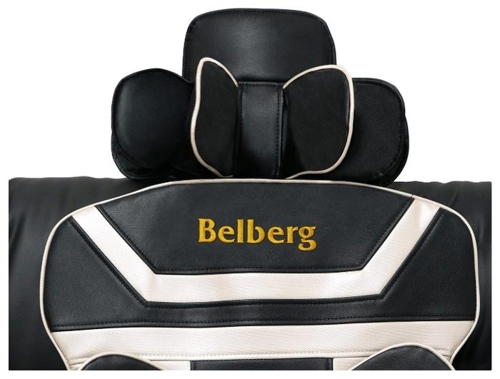 Belberg Neo Driver BM-03 - зона массажа: поясница, бедра, плечи, спина, шея, ягодицы