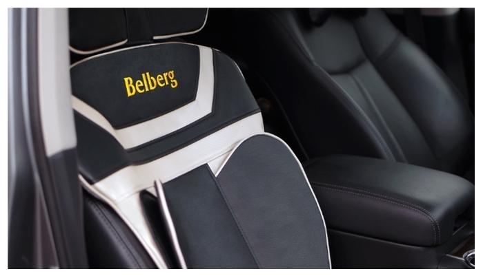 Belberg Neo Driver BM-03 - функции регулировки: зона массажа, интенсивность массажа