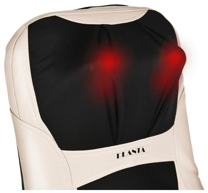 PLANTA MN-950 - зона массажа: поясница, бедра, плечи, спина, шея