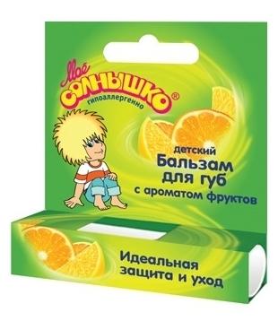 Моё солнышко с ароматом фруктов - эффект: восстановление, увлажнение, защита от холода и ветра