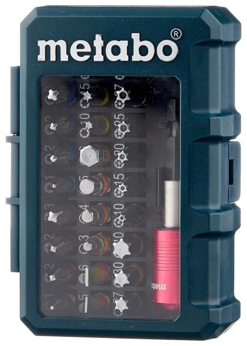 Metabo 626700000, 32 предм. - размеры кейса (ШxВxГ): 70x100x35мм
