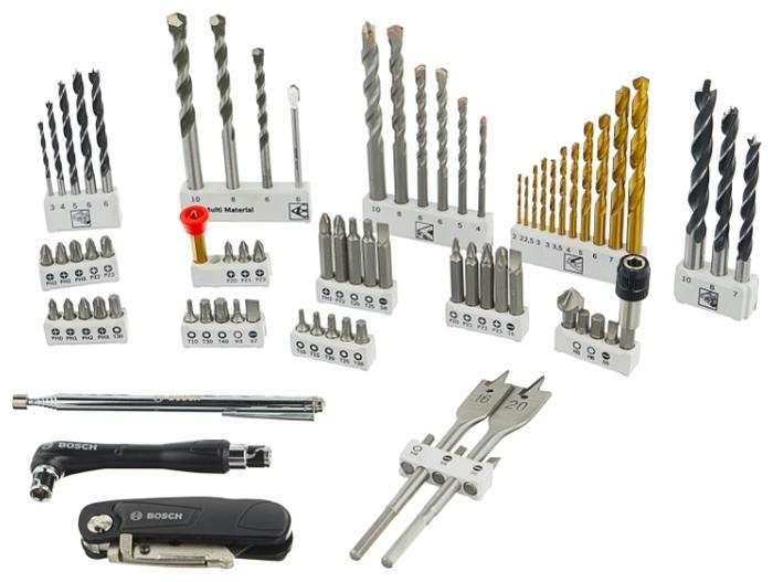 BOSCH Premium X-Line 76 (2608P00234), 76 предм. - аксессуары: нож