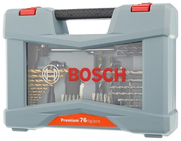 BOSCH Premium X-Line 76 (2608P00234), 76 предм. - количество бит: 40шт.