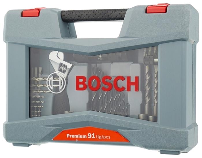 BOSCH Premium X-Line 91 (2608P00235), 91 предм. - количество бит: 57шт.