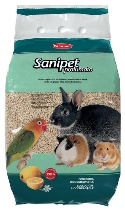 Padovan Sanipet Profumato кукурузный 10 л - тип: наполнитель