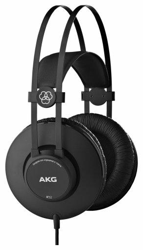 AKG K 52 - конструкция: полноразмерные (закрытые)