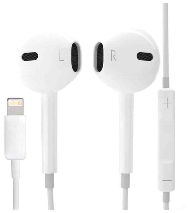 Apple EarPods (Lightning) - длина кабеля: 1.2м
