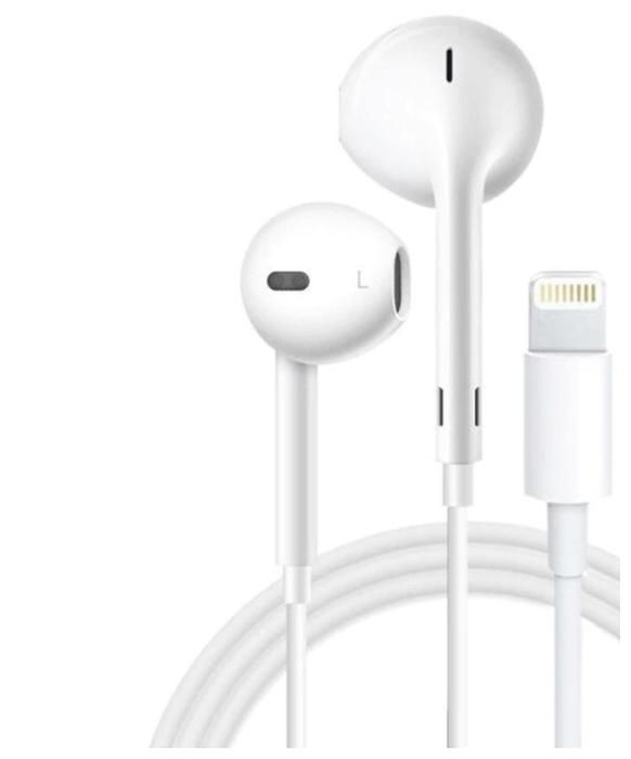 Apple EarPods (Lightning) - вес: 10г