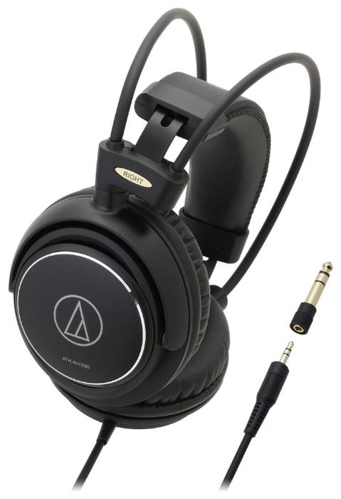 Audio-Technica ATH-AVC500 - конструкция: полноразмерные (закрытые)