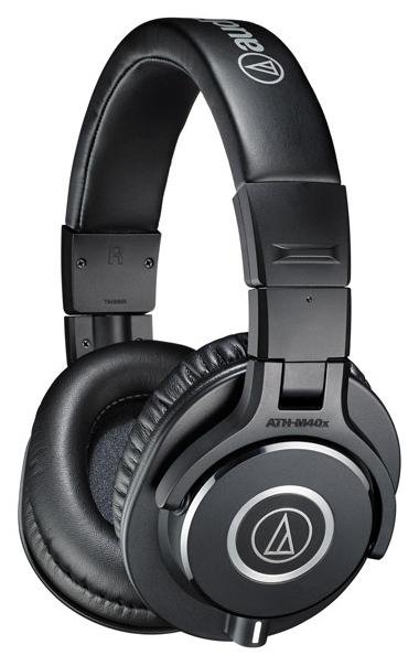 Audio-Technica ATH-M40x - конструкция: полноразмерные (закрытые)