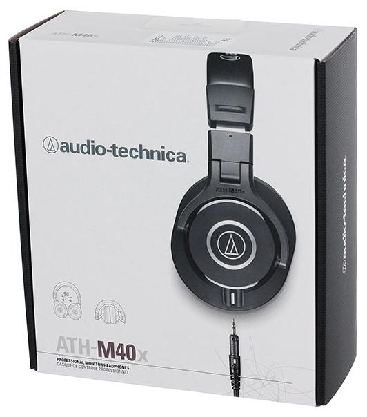Audio-Technica ATH-M40x - импеданс: 35Ом