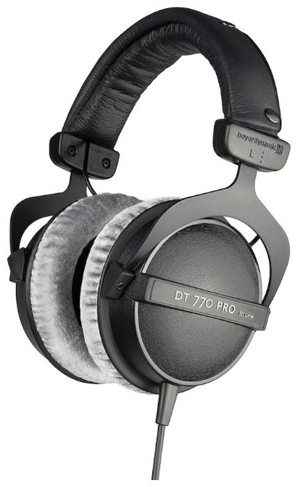 Beyerdynamic DT 770 Pro (80 Ohm) - конструкция: полноразмерные (закрытые)