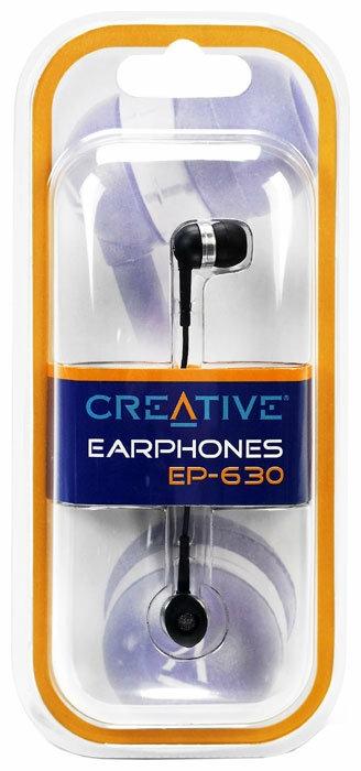 Creative EP-630 - тип излучателей: динамические