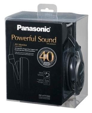 Panasonic RP-HTF295 - тип излучателей: динамические